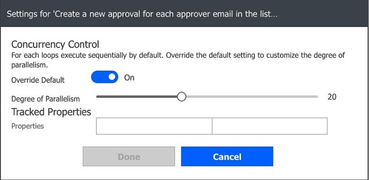Enabling currency control for Microsoft Flow approvals